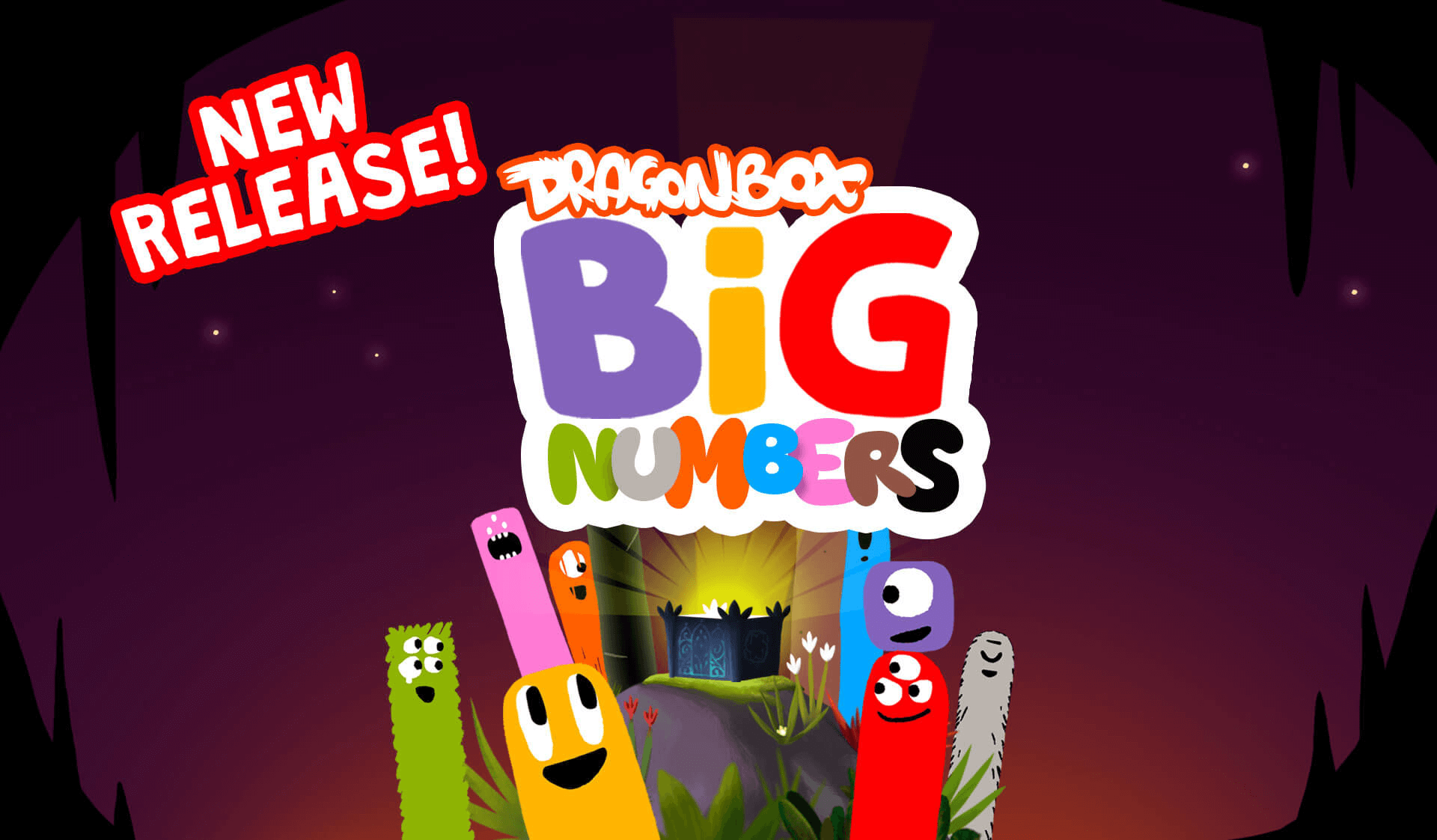 DragonBox Big Numbers App - Long Addition & Subtraction